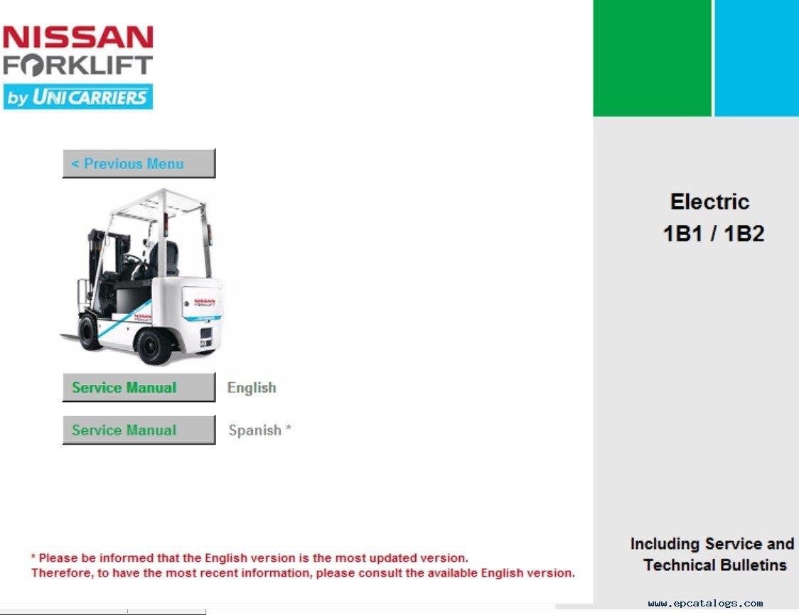 Nissan 50 Forklift Service Manual Pdf