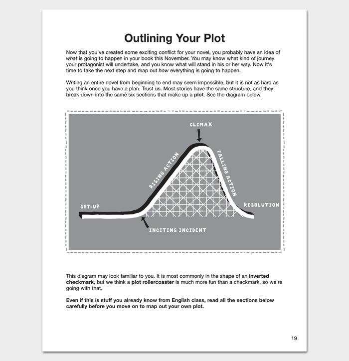 Novel Outline Template Pdf