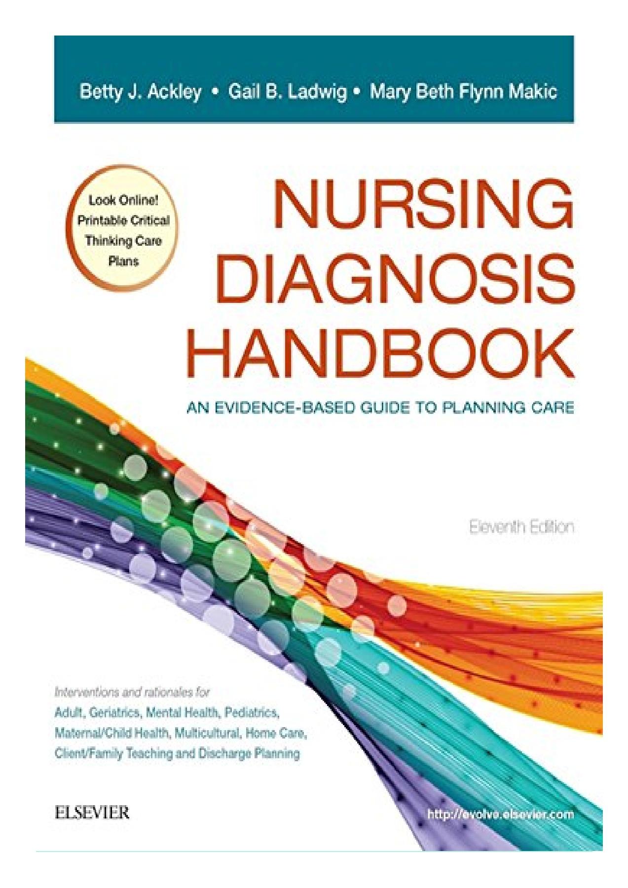 Nursing Diagnosis Handbook Pdf Free