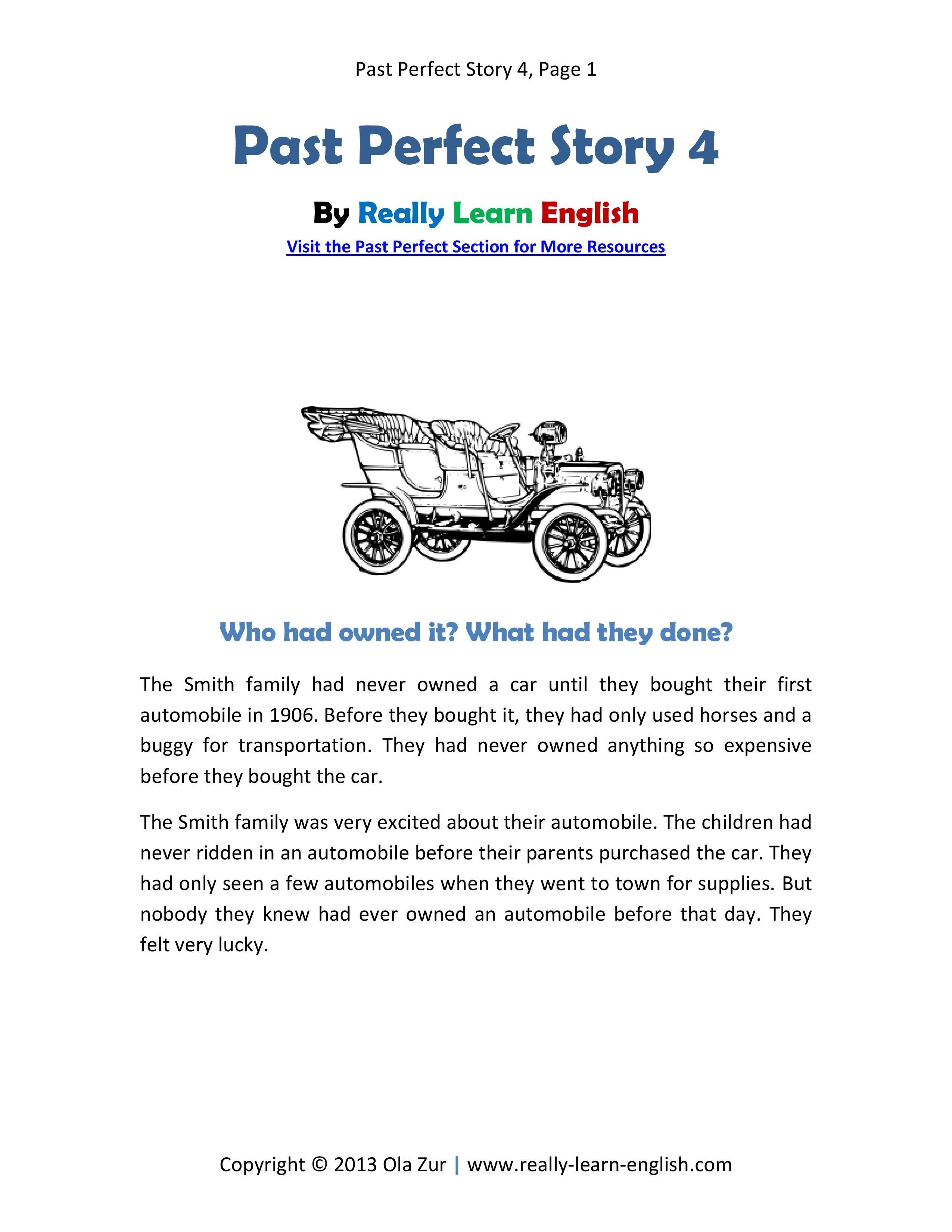 Printable French Short Stories Pdf