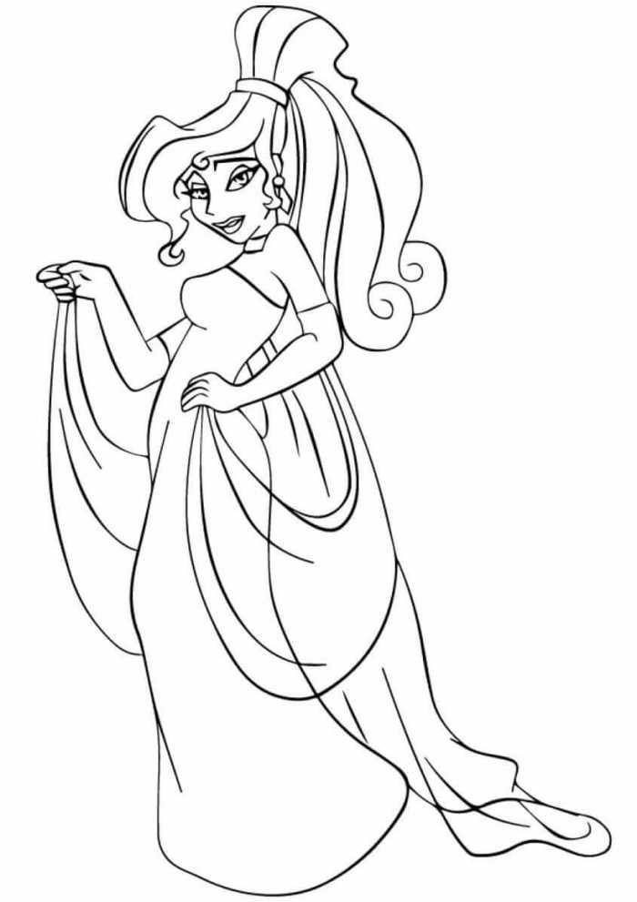 Printable Pdf Disney Princess Coloring Pages