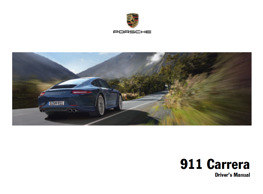 1999 Porsche 911 Owners Manual Pdf