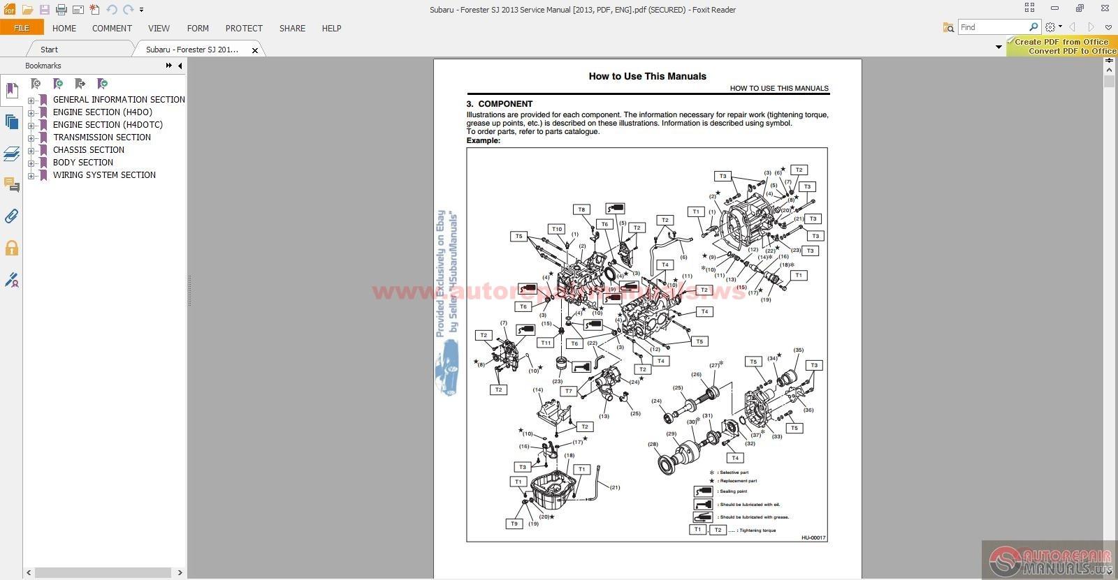 2006 Subaru Outback Service Manual Pdf
