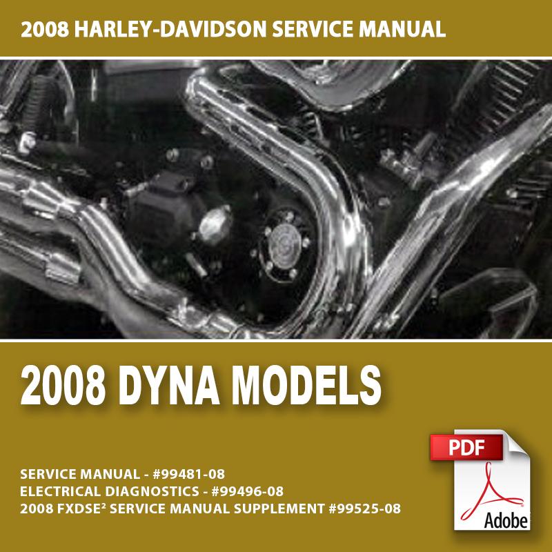 2007 Street Bob Service Manual Pdf