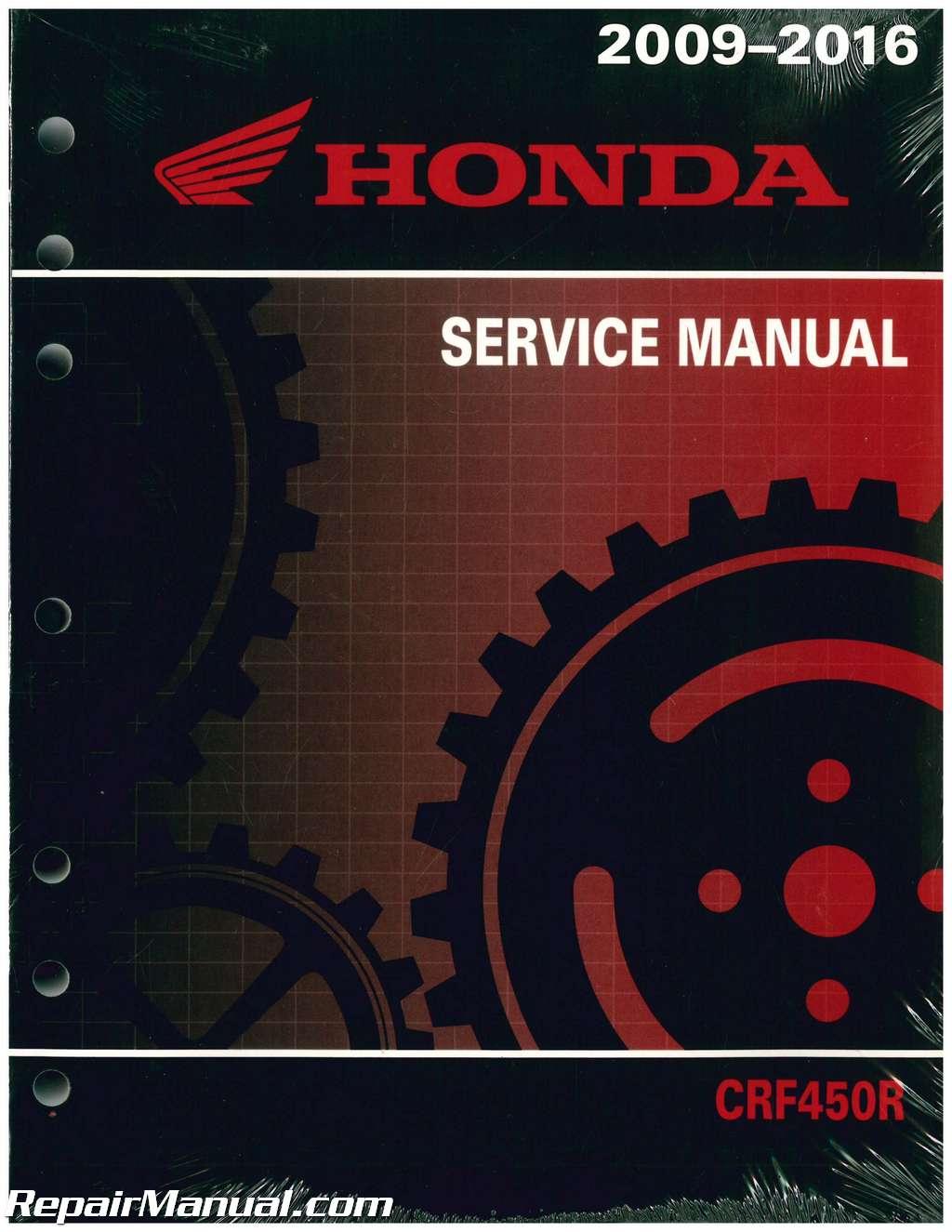 2018 Crf450r Service Manual Pdf Free