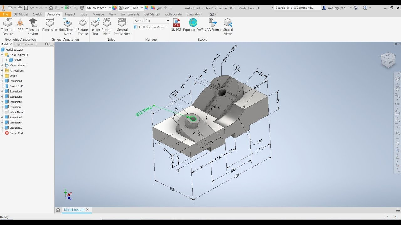 Autodesk Inventor Tutorials For Beginners Pdf