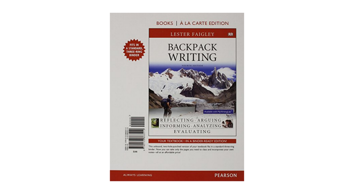 Backpack Writing 4th Edition Pdf
