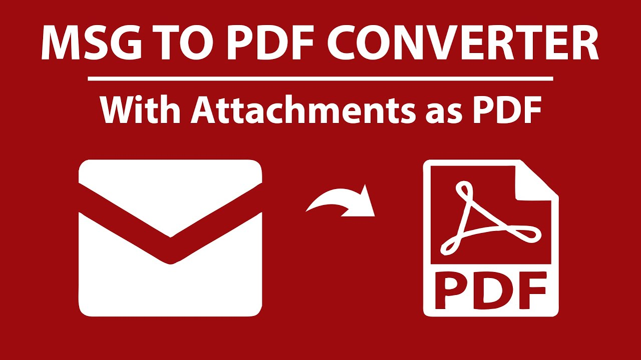 Batch Convert Outlook Email To Pdf