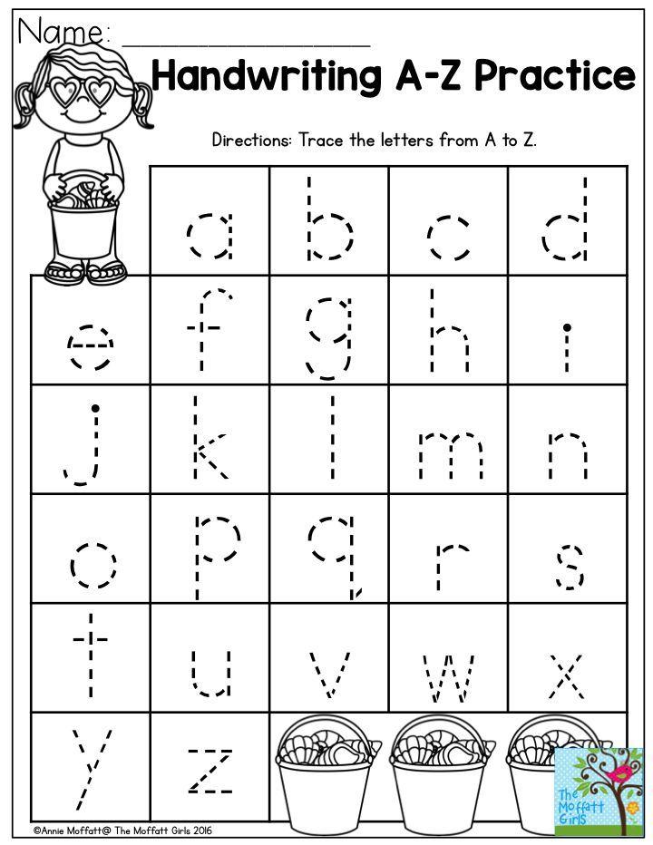 Beginner Preschool Writing Worksheets Pdf