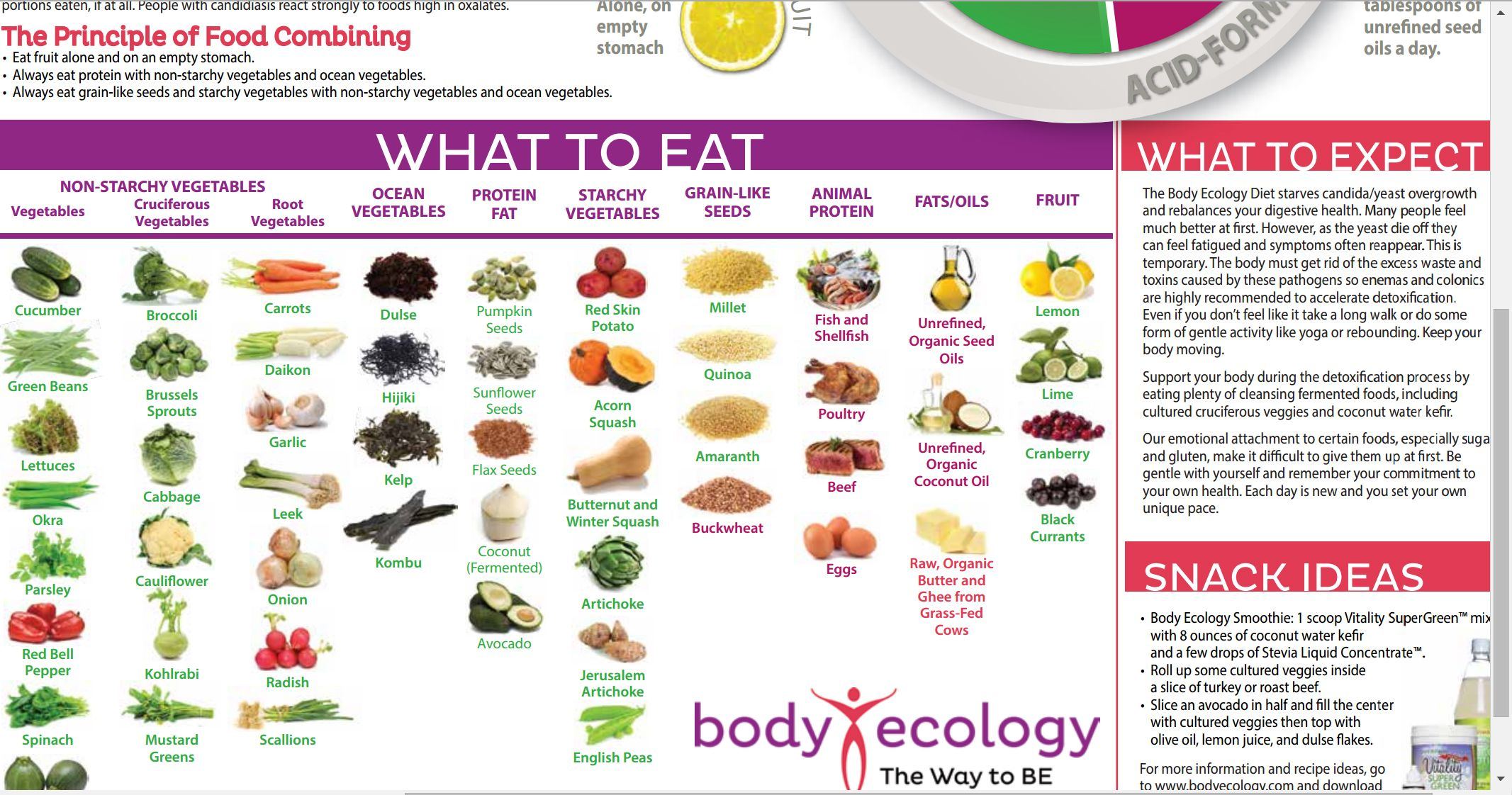 Body Ecology Living Cookbook Pdf