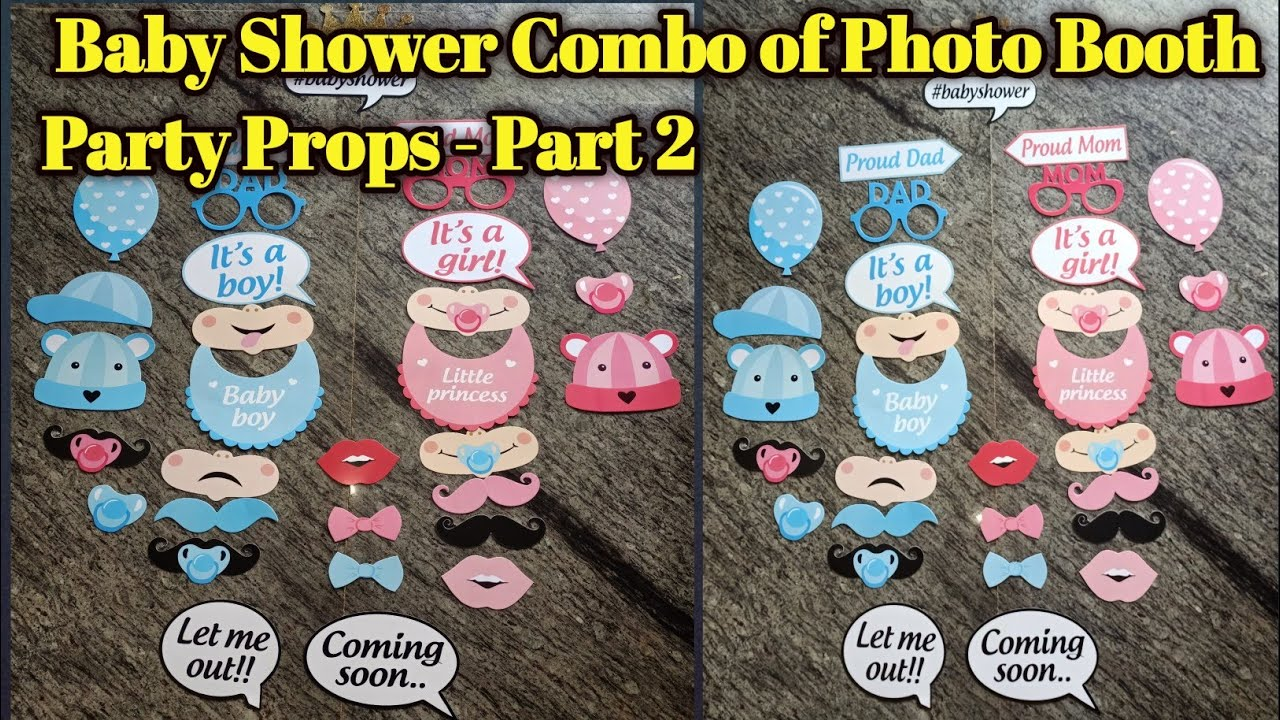 Bridal Shower Photo Booth Props Printable Pdf