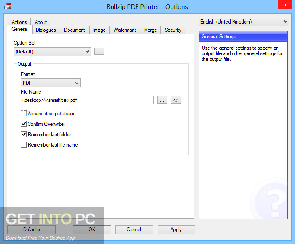 Bullzip Pdf Printer Free Download Filehippo