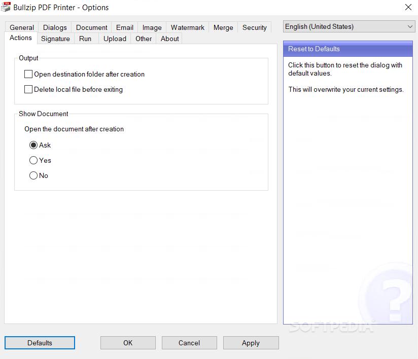 Bullzip Pdf Printer Free Download For Windows 7 32 Bit