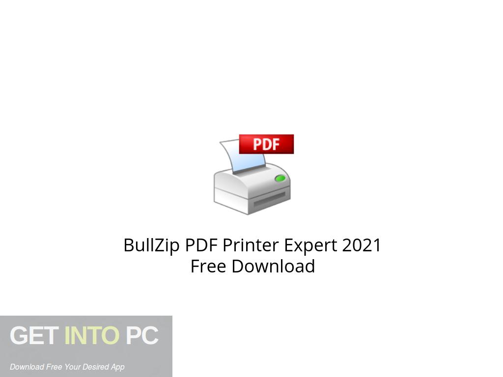 Bullzip Pdf Printer Free Download