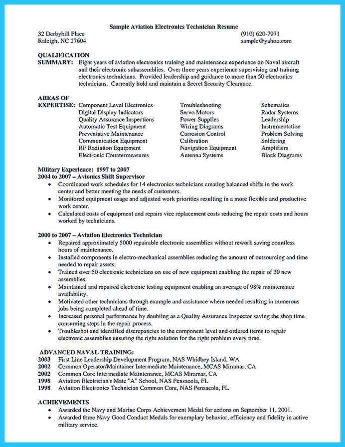 Calibration Technician Resume Pdf