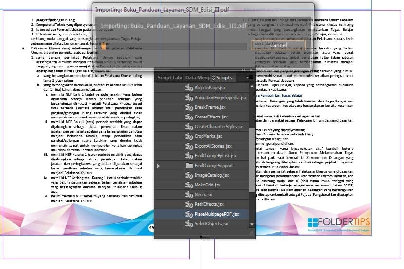Can I Import A Pdf Into Indesign