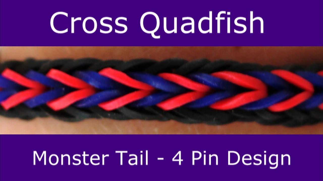 Monster Tail Rainbow Loom Instructions Pdf