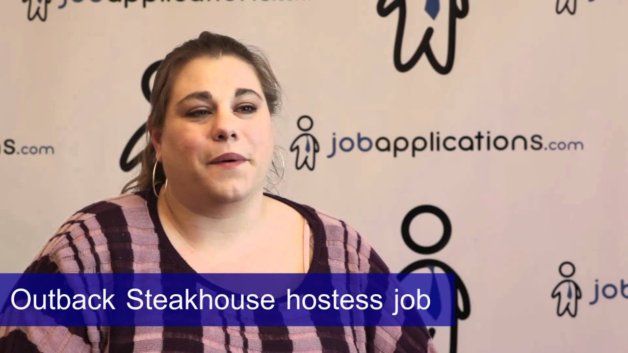 Outback Steakhouse Application Pdf