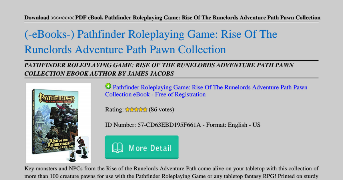 Pathfinder Rise Of The Runelords Pdf