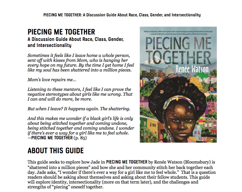 Piecing Me Together Pdf Full Text