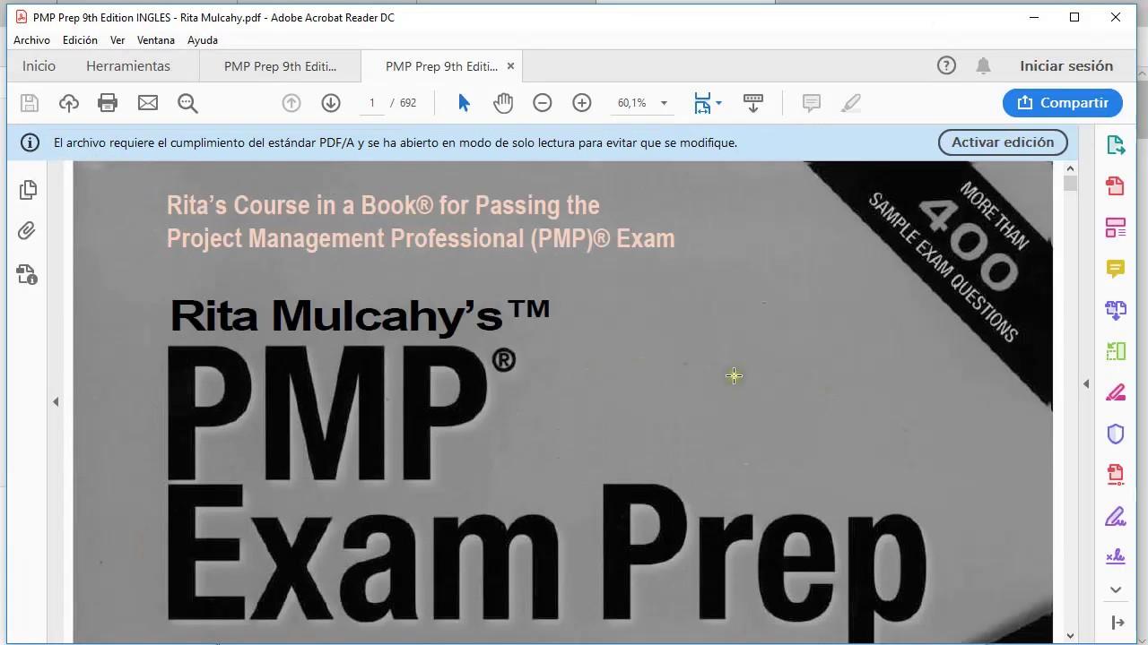 Pmp Rita Mulcahy 9th Edition Pdf Download