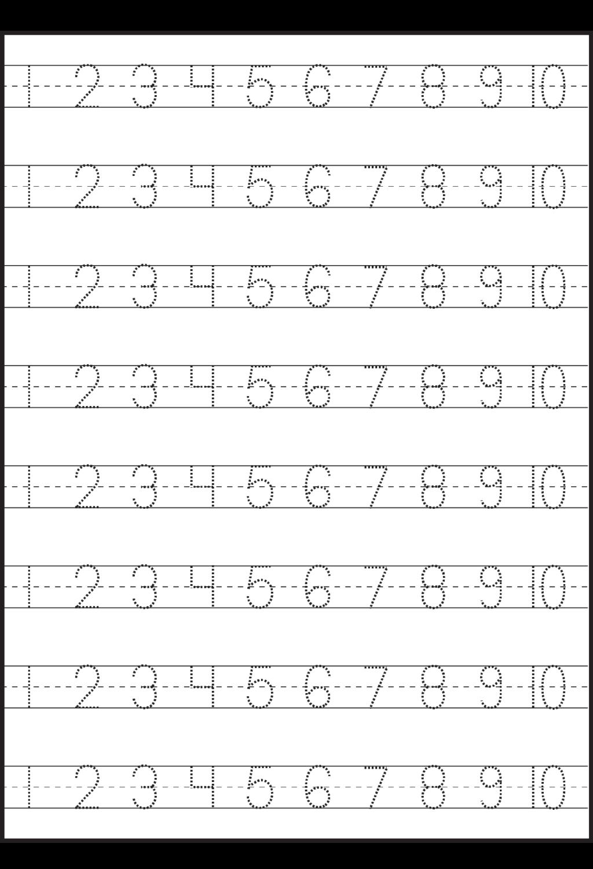 Preschool Writing Worksheets Pdf