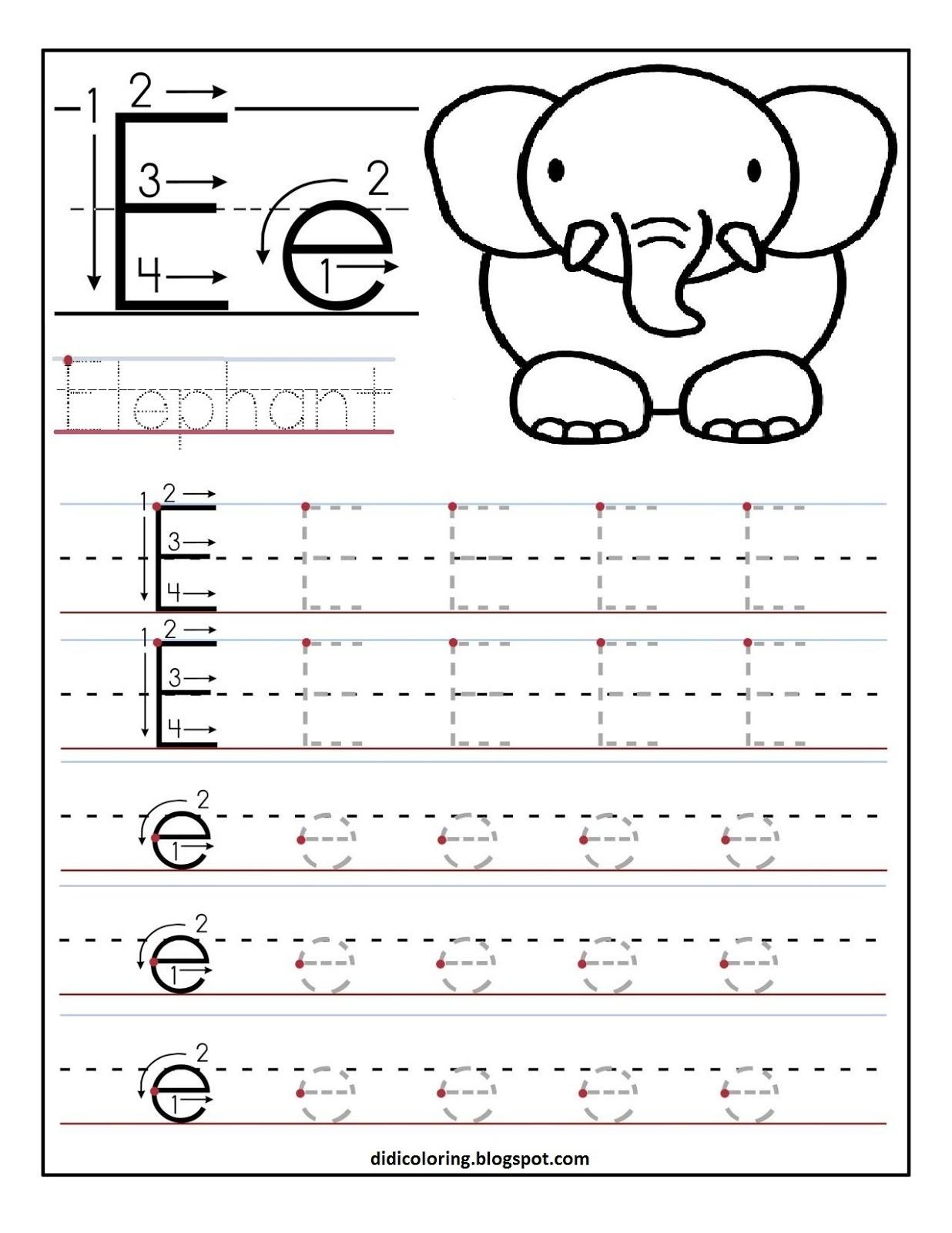 Printable Preschool Writing Worksheets Pdf