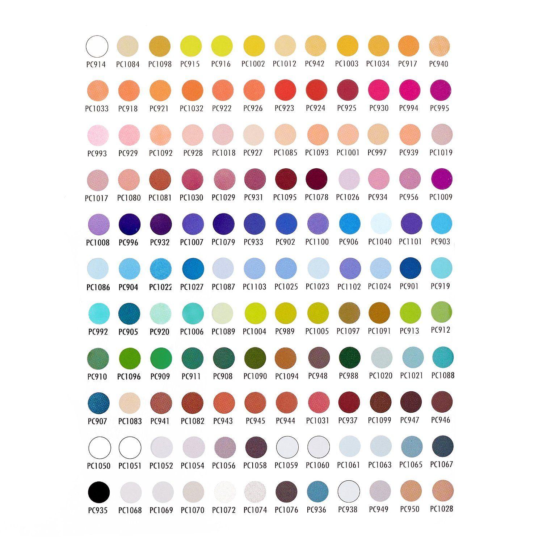 Prismacolor 150 Color Chart Pdf