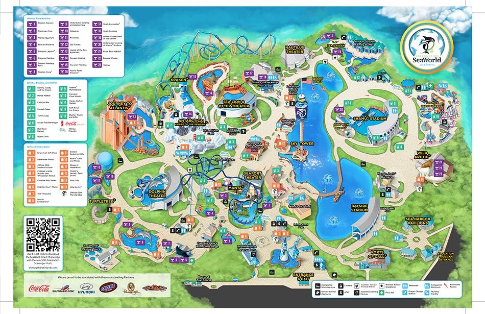 Seaworld Orlando Map 2021 Pdf