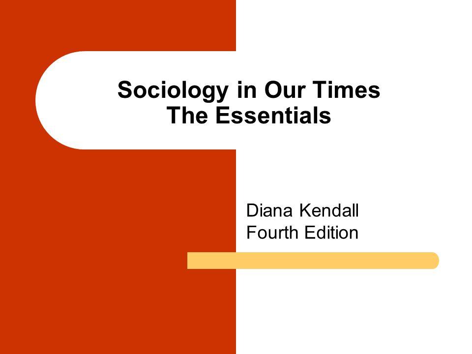 Diana Kendall Fourth Edition.