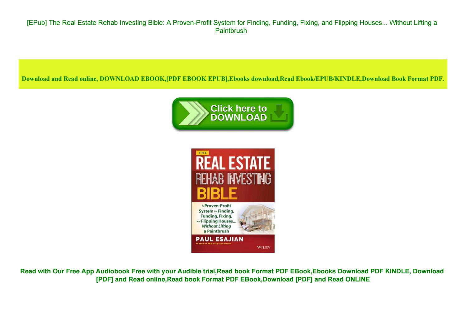 The Book On Flipping Houses Pdf Free Download