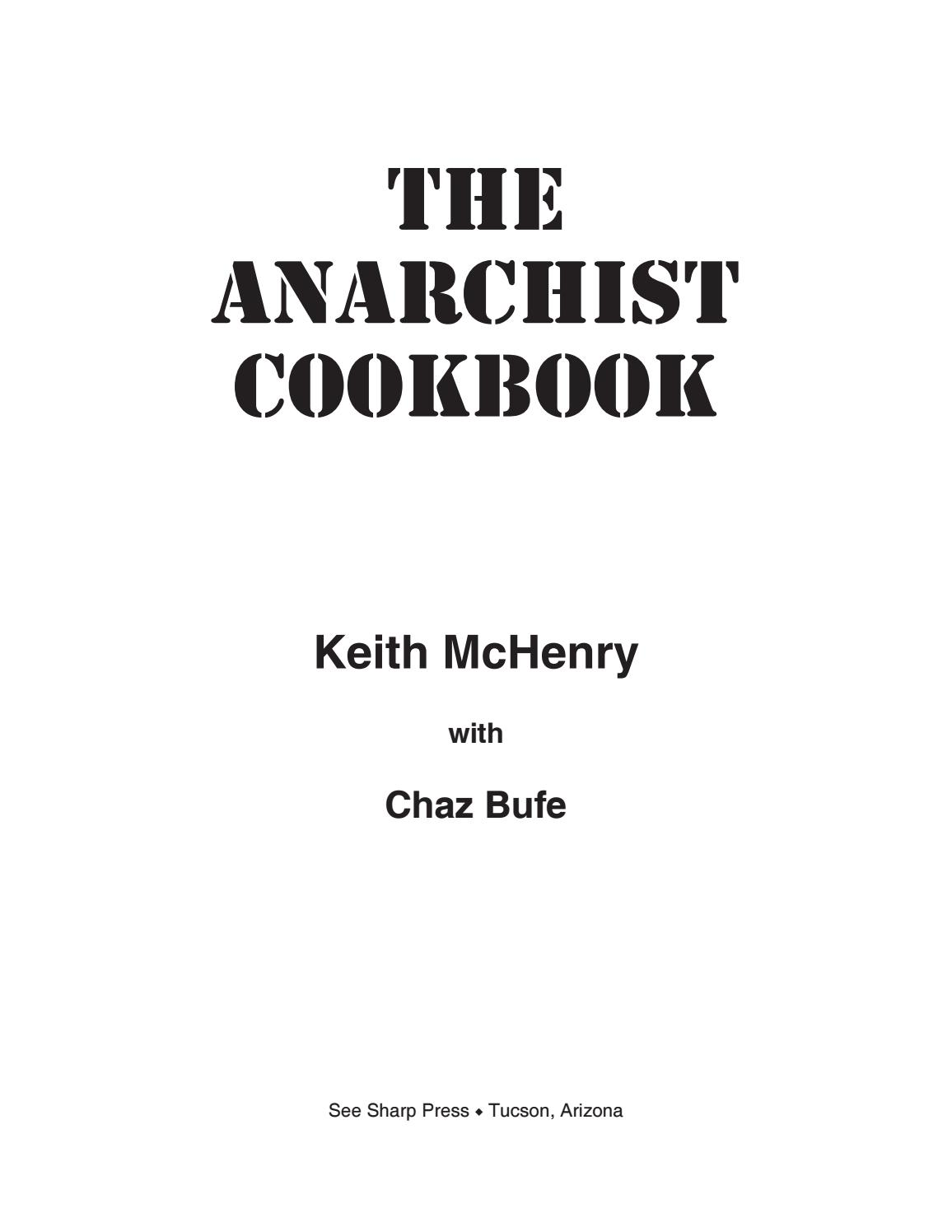The Corrected And Updated Anarchist Cookbook Pdf