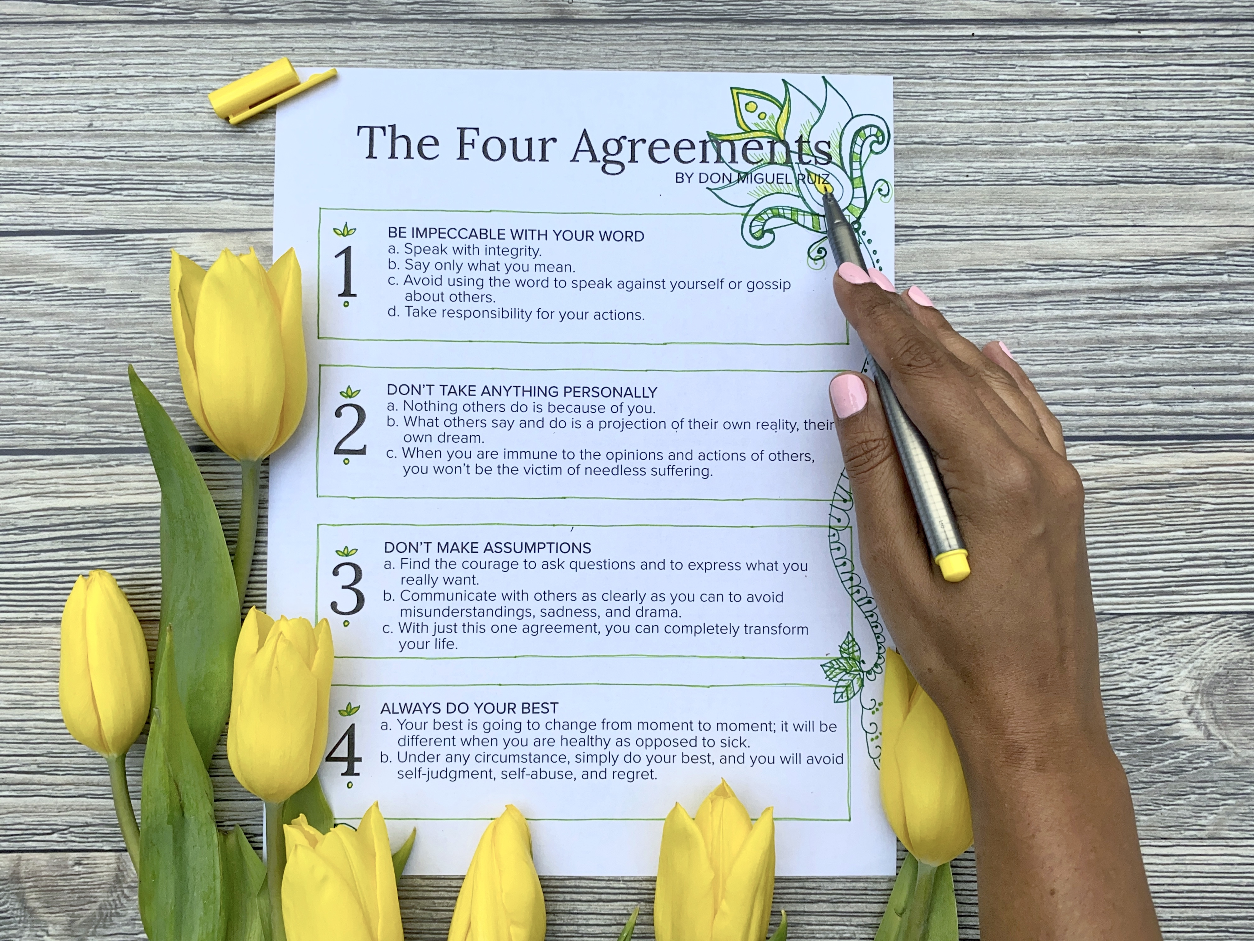 The Four Agreements Workbook Pdf