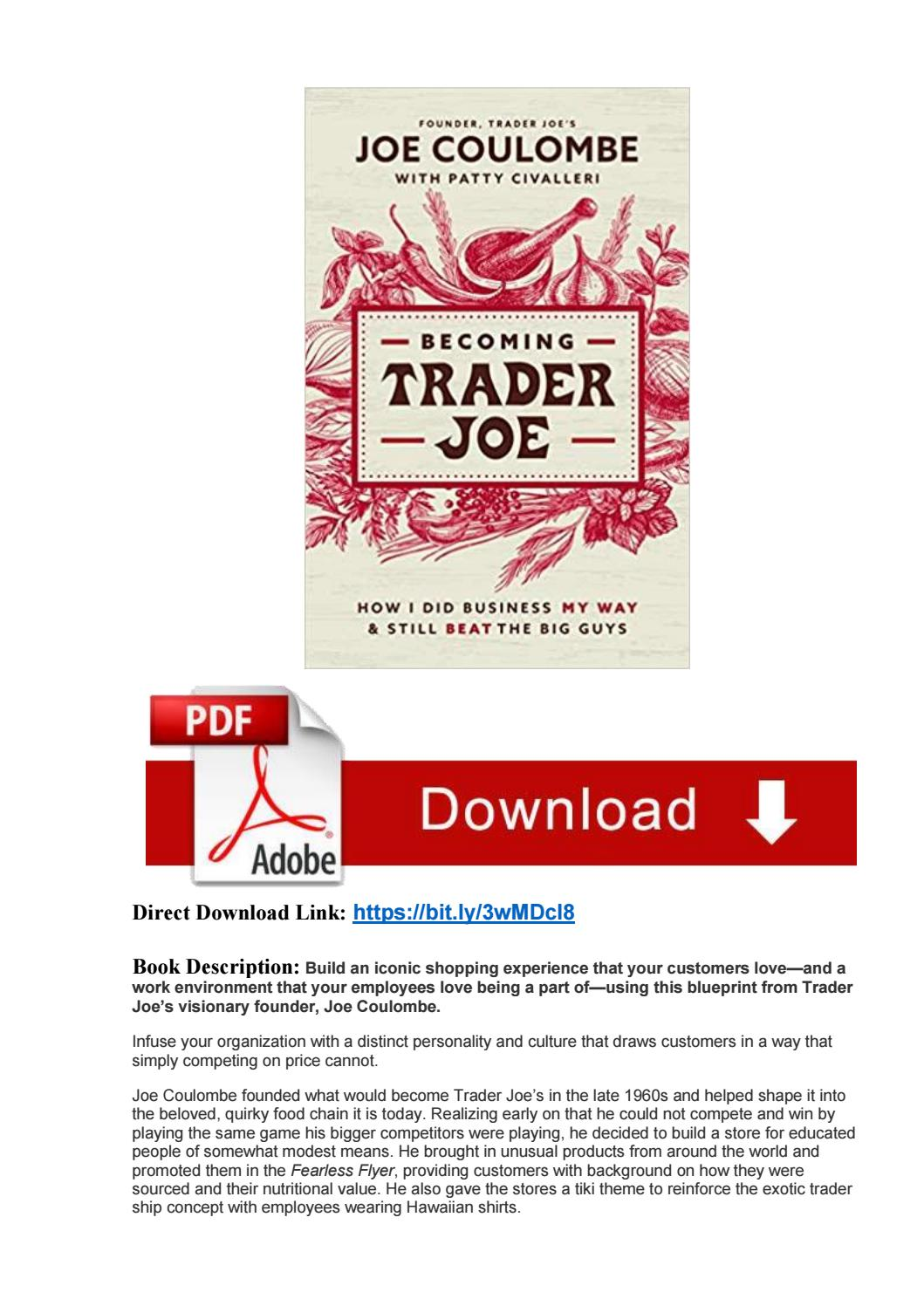 Trader Joe's Application Pdf