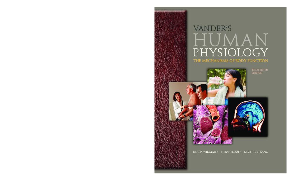 Vander's Human Physiology Pdf
