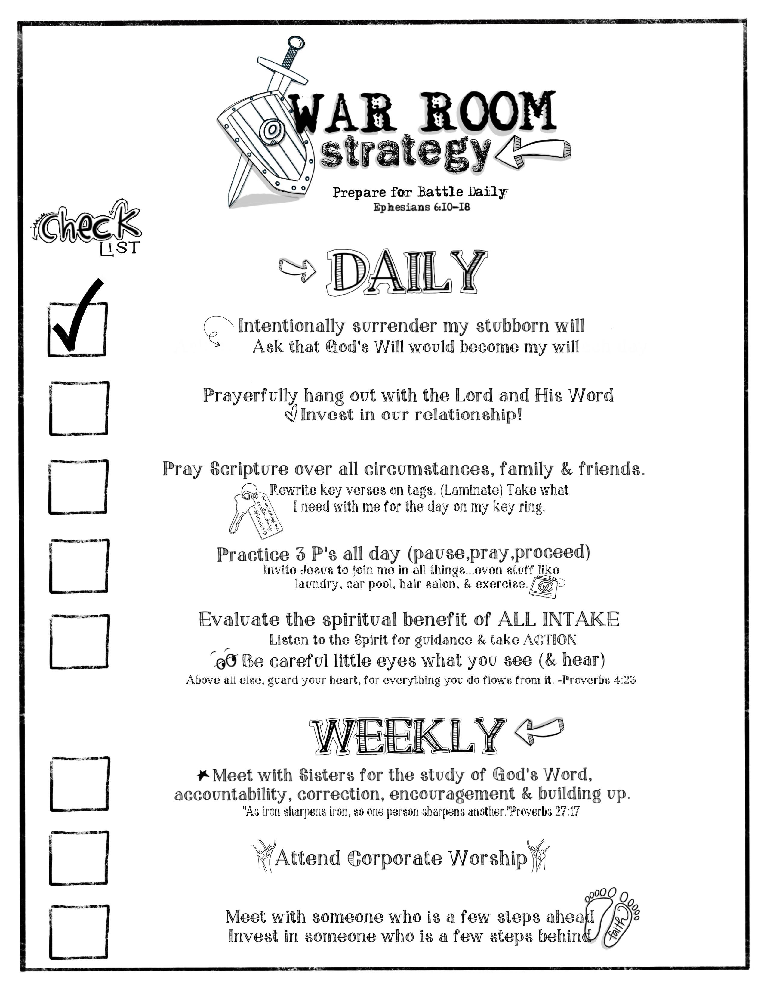 War Room Bible Study Pdf Free Download