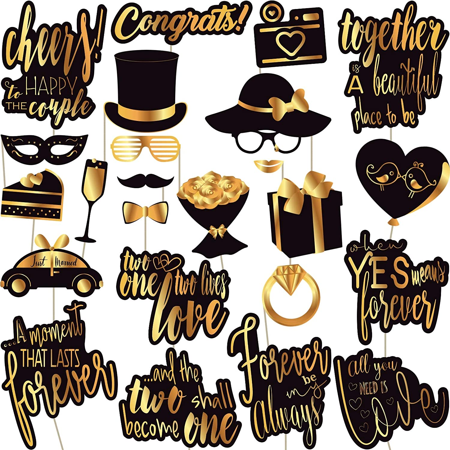 Wedding Photo Booth Props Printable Pdf Free Download