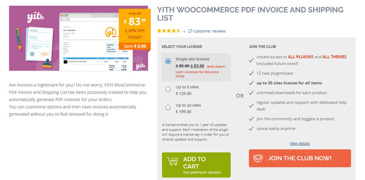 Woocommerce Pdf Invoices Custom Template