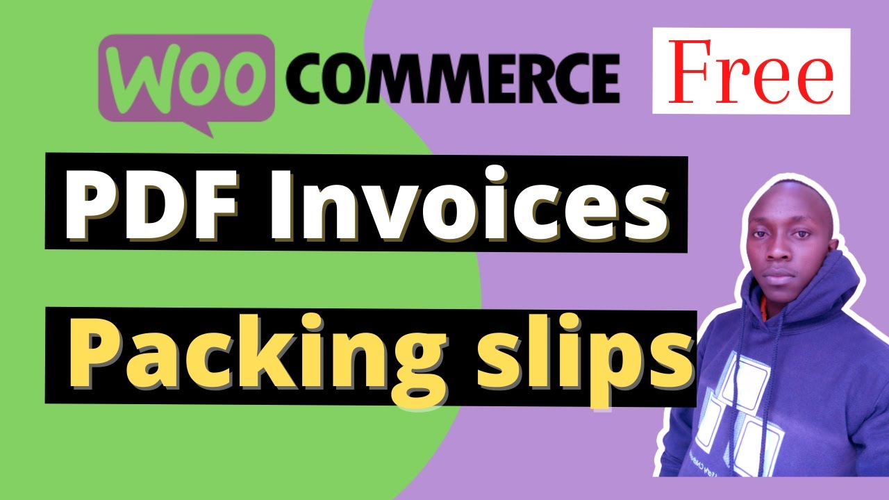 Woocommerce Pdf Invoices Packing Slips Delivery Notes & Shipping Labels