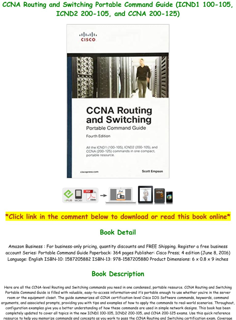 Ccna Routing And Switching Icnd1 Pdf