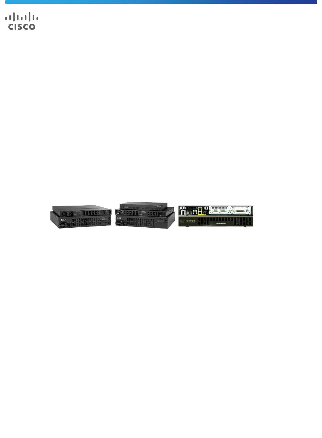 Cisco 4221 Datasheet Pdf