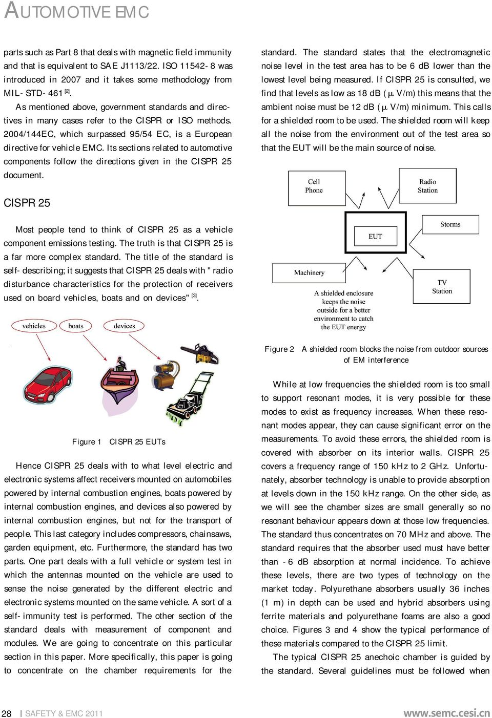 Cispr 25 Test Report Pdf