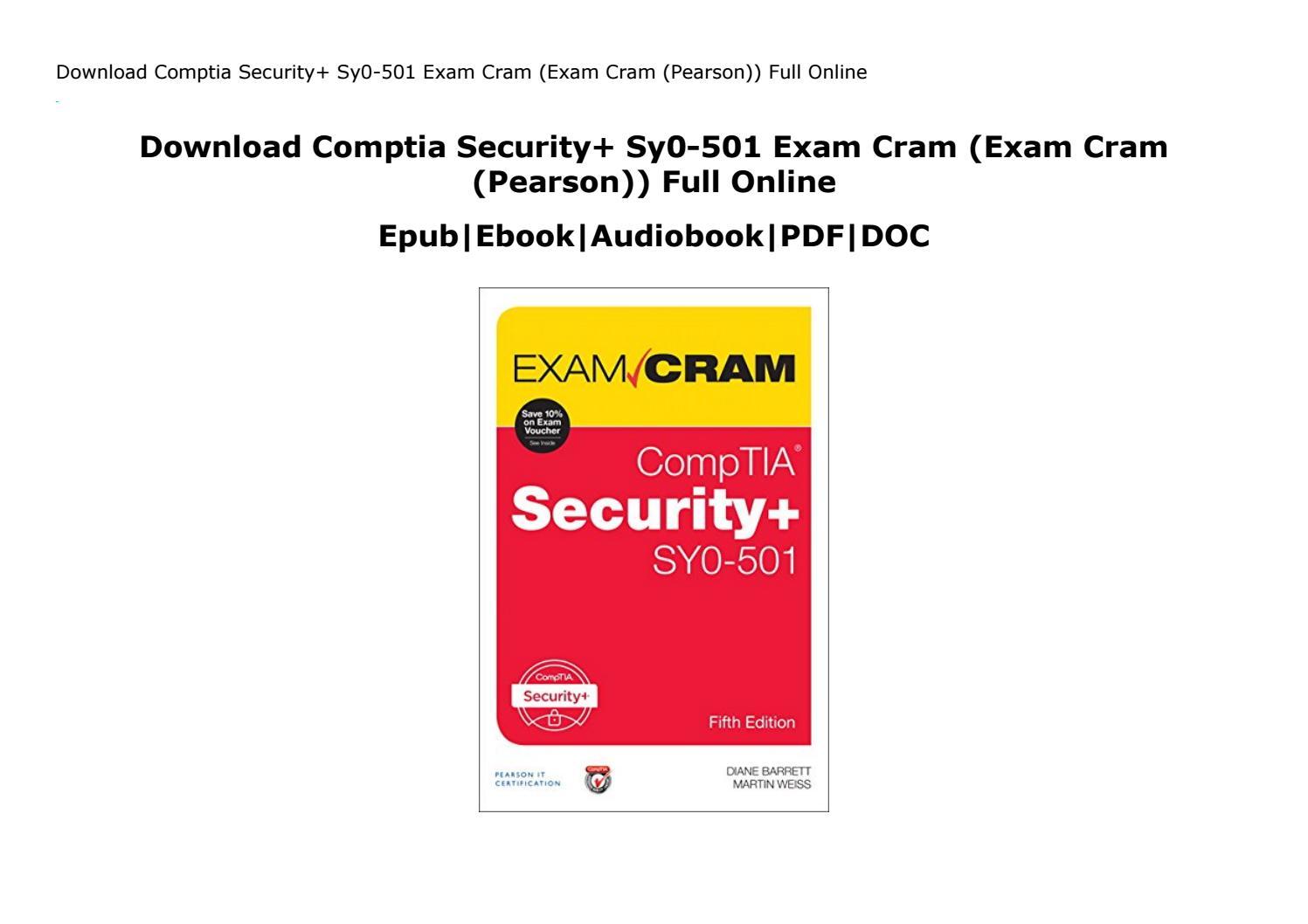 Comptia Security+ Exam Cram Pdf
