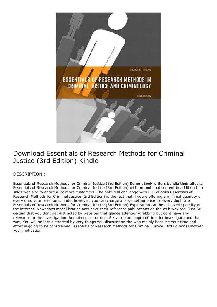 Criminology The Essentials 3rd Edition Pdf