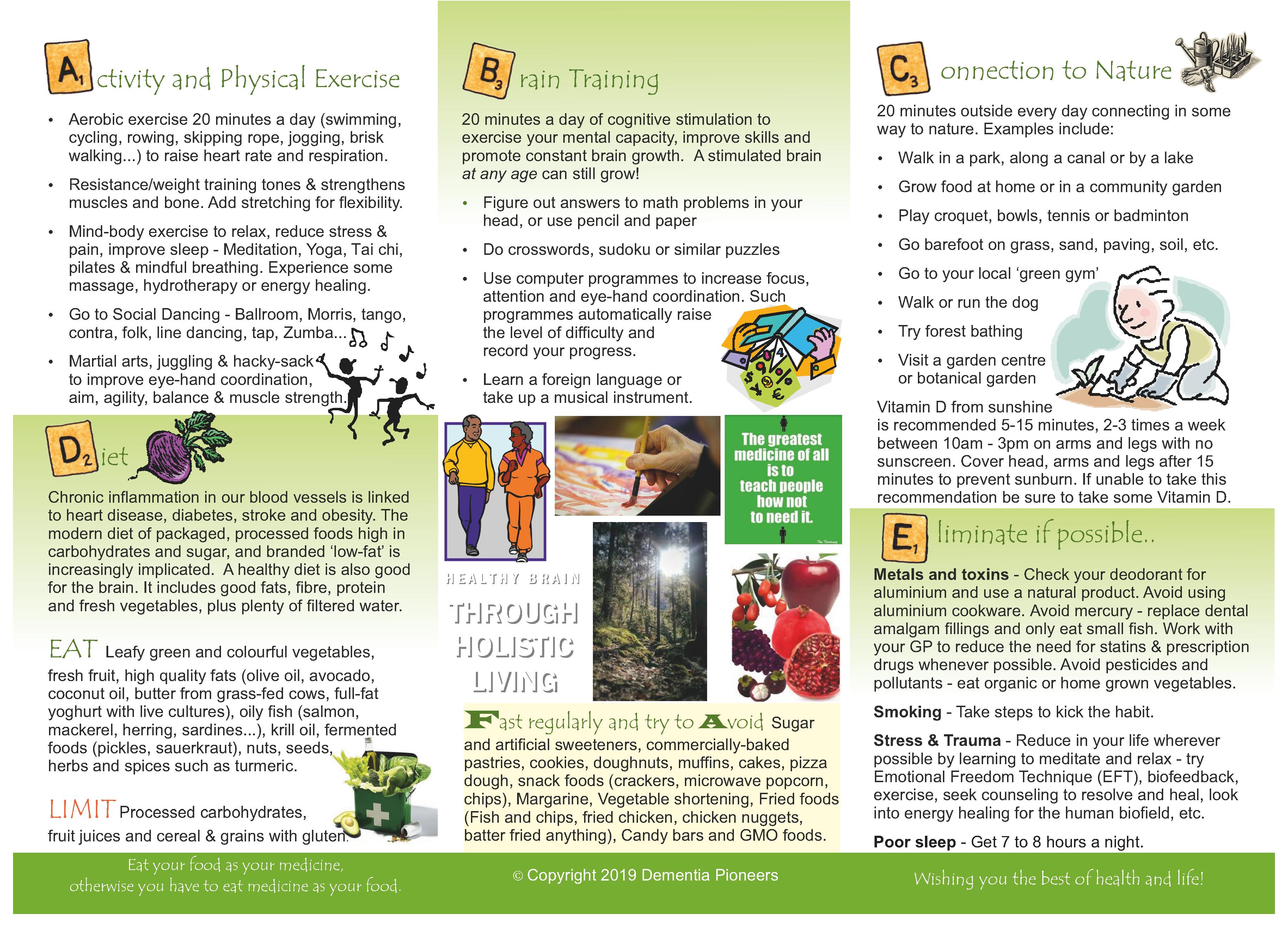 Dementia Brochure Pdf