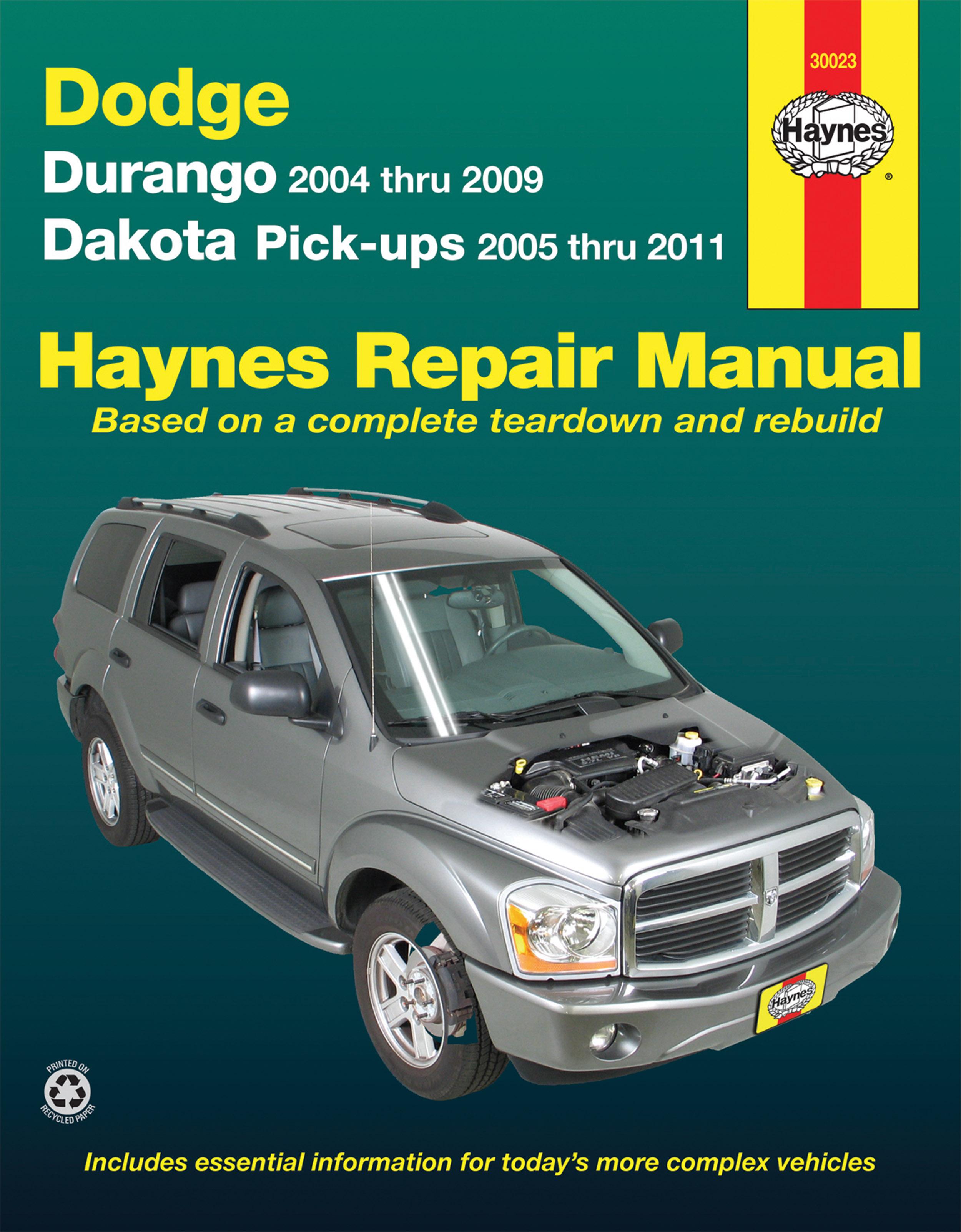 Dodge Dakota Repair Manual Pdf Free