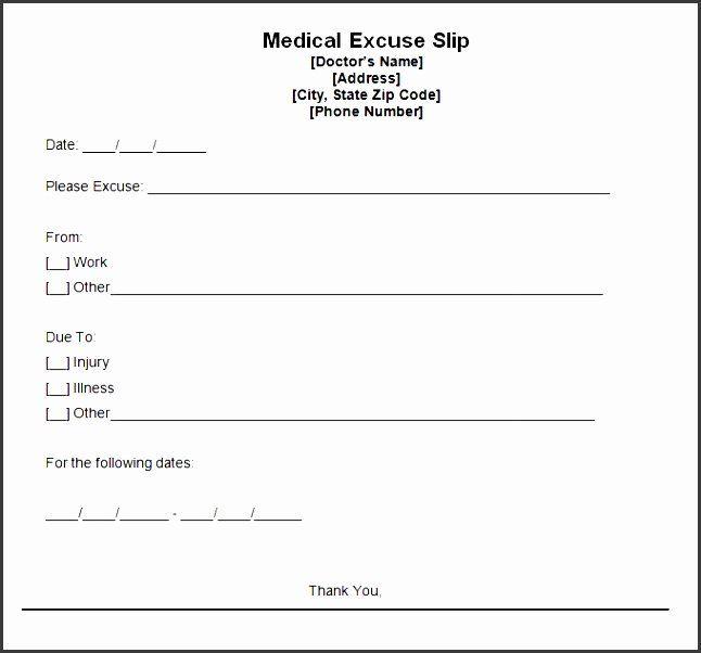 Editable Doctors Note Pdf