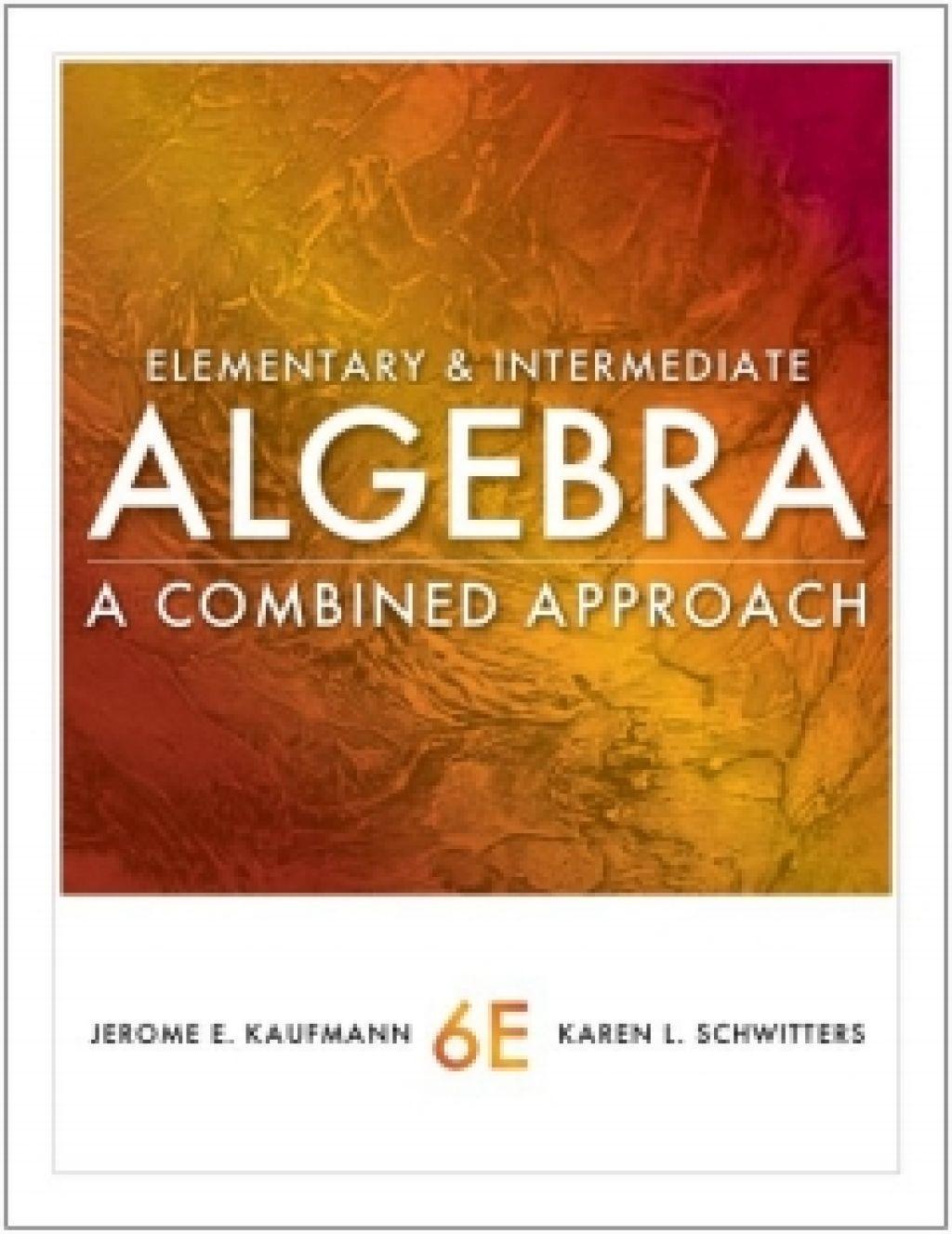 Elementary And Intermediate Algebra 5th Edition Pdf Free