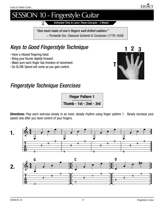 Fingerstyle Guitar Book Pdf