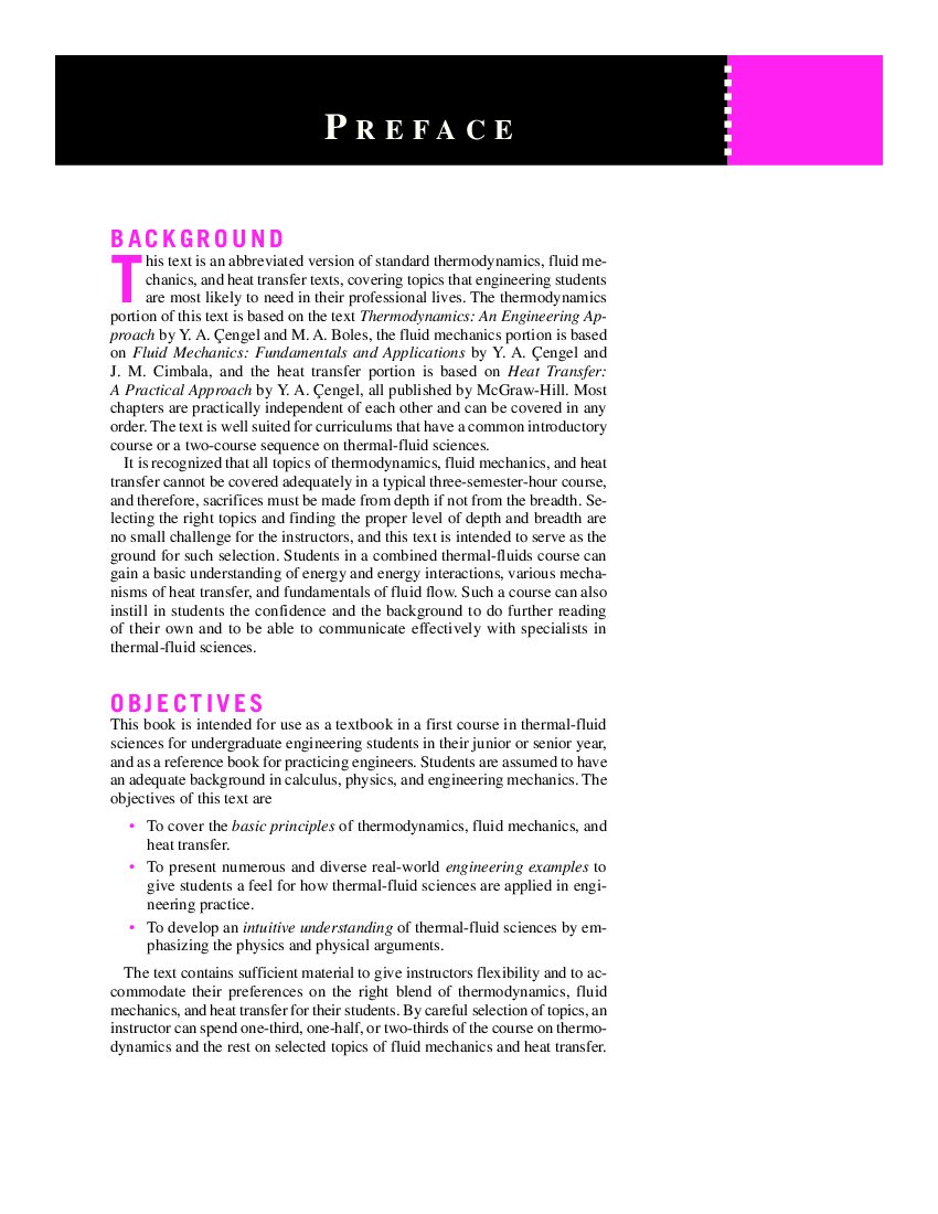 Fundamentals Of Thermal Fluid Sciences Cengel Pdf